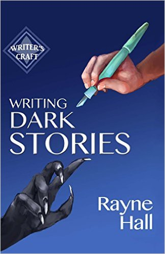 My tip for writing dark stories: turn off the lights. Not sure what's so hard about that.